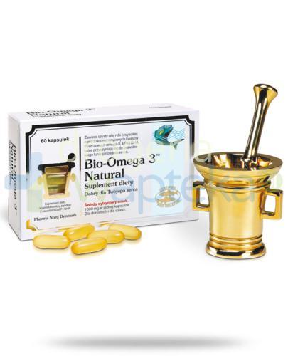 Bio-Omega-3 Natural 60 kapsułek