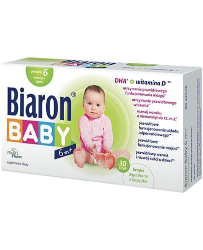 Bioaron Baby 6m+ DHA + witamina D 30 kapsułek