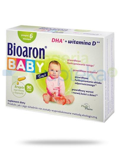 Bioaron Baby 6m+ DHA + witamina D 90 kapsułek