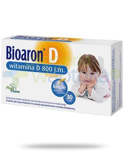 Bioaron D witamina D 800j.m. 30 kapsułek