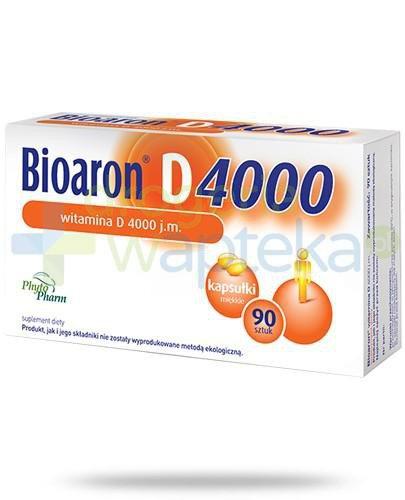 Bioaron witamina D 4000j.m. 90 kapsułek