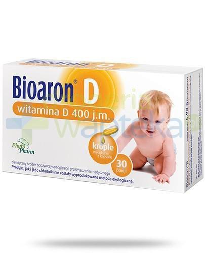 Bioaron witamina D 400j.m. 30 kapsułek