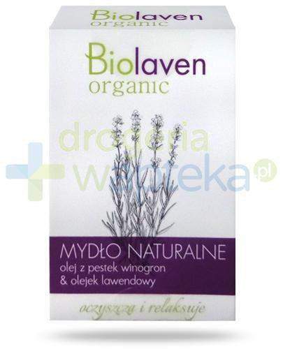 Biolaven Organic naturalne mydło lawendowe 120 g [Data ważności 31-10-2018]