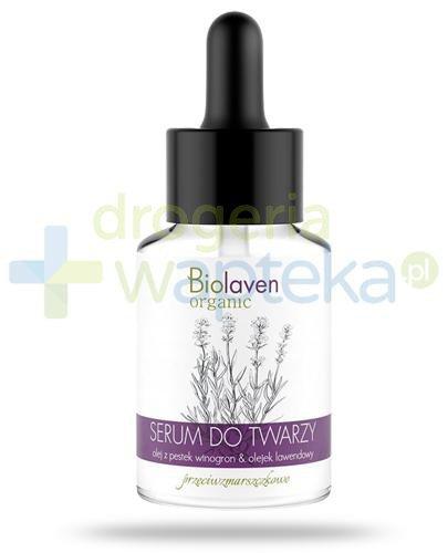 Biolaven Organic serum przeciwzmarszczkowe do twarzy 30 ml
