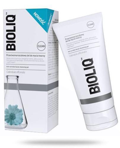 Bioliq Clean przeciwzmarszczkowy żel do mycia twarzy 125 ml