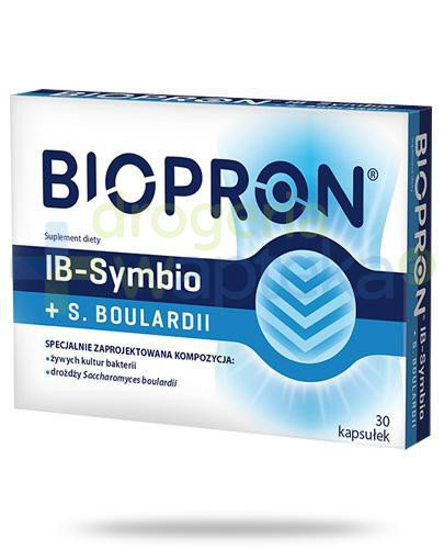 Biopron IB-Symbio + S. Boulardii 30 kapsułek