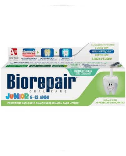 Biorepair Junior 6-12 pasta do zębów 75 ml