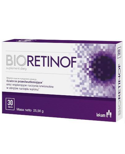Bioretinof 30 tabletek