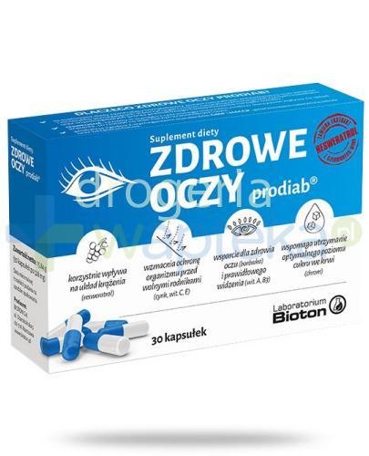 Bioton Zdrowe Oczy prodiab z resweratrolem 30 kapsułek