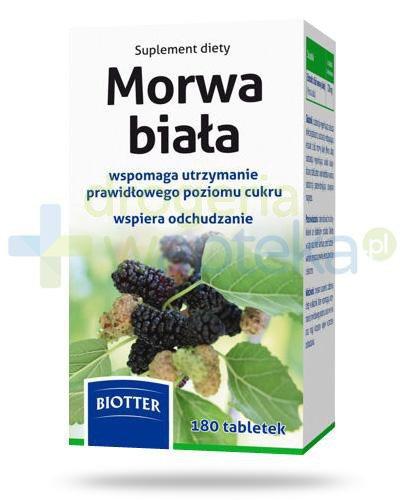 Biotter Morwa biała 120mg 180 tabletek