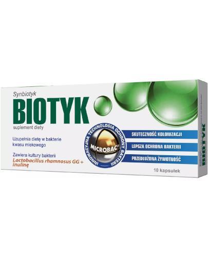 Biotyk 0,4 g 10 kapsułek