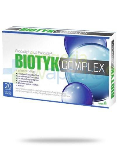 Biotyk Complex probiotyk plus prebiotyk 20 kapsułek