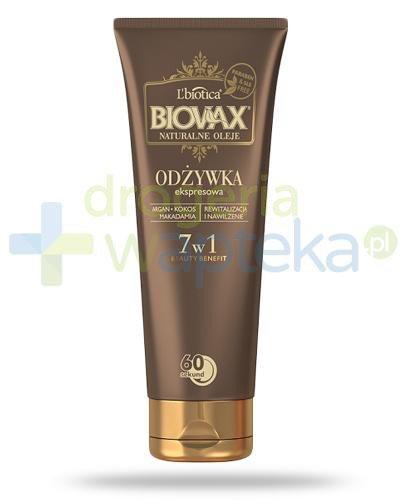 Biovax Argan & Makadamia & Kokos odżywka ekspresowa 7w1 200 ml