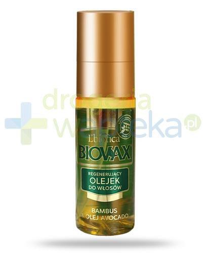 Biovax Bambus & Olej Avocado olejek do pielęgnacji włosów 50 ml