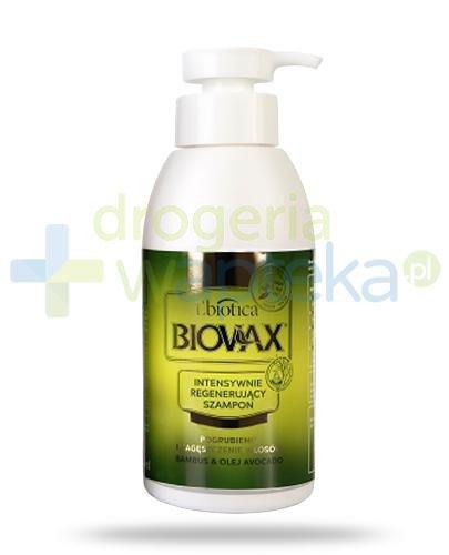 Biovax Bambus & Olej Avocado szampon intensywnie regenerujący 400 ml