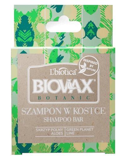 Biovax Botanic Szampon w kostce skrzyp polny, aloes 82 g