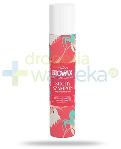 Biovax Opuntia Oil & Mango suchy szampon do włosów 200 ml