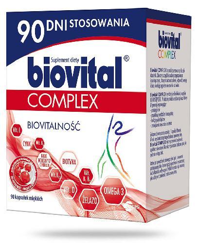 Biovital Complex 90 kapsułek