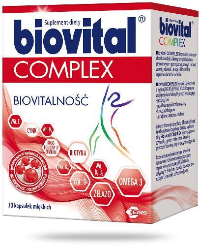 Biovital Complex 30 kapsułek