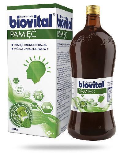 Biovital Pamięć płyn 1000 ml