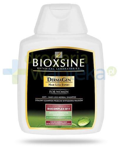 Bioxsine DermaGen Dla kobiet szampon przeciw wypadaniu do włosów normalnych i suchyc...
