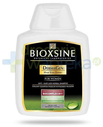 Bioxsine DermaGen Dla kobiet szampon przeciw wypadaniu do włosów tłustych 300 ml