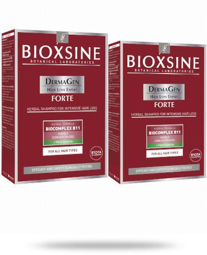Bioxsine DermaGen Forte szampon przeciw wypadaniu włosów 2x 300 ml [DWUPAK]
