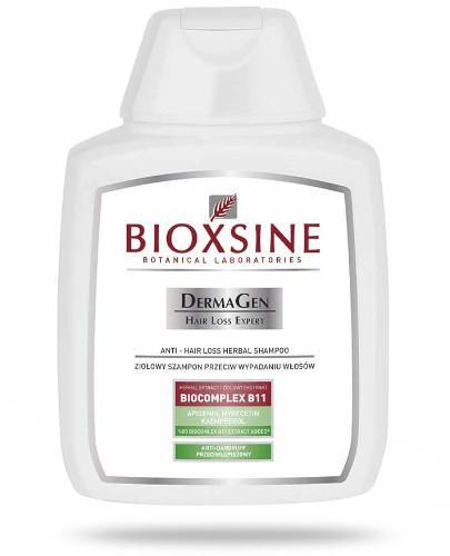 Bioxsine DermaGen szampon przeciwko wypadaniu włosów przeciwłupieżowy 300 ml  whited-out