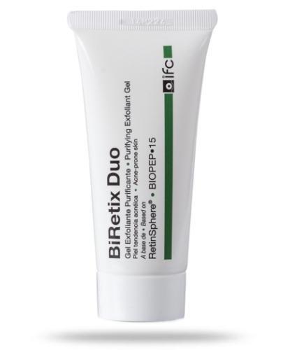 BiRetix Duo żel złuszczająco-oczyszczający z retinoidami eliminujący niedoskonałośc...