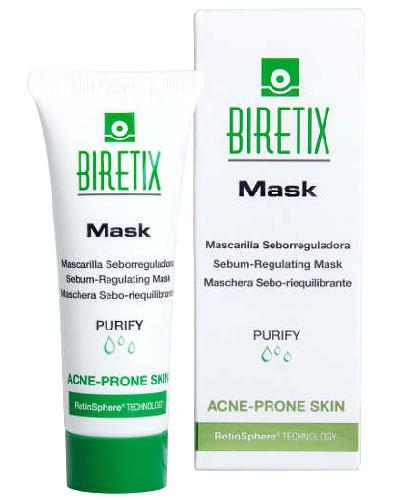 BiRetix Mask maseczka sebo regulująca z retinoidami do skóry trądzikowej 25 ml [DARMOW...  whited-out