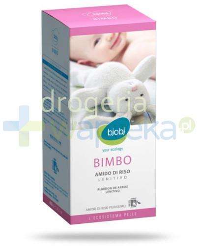 Bjobj Skrobia ryżowa do łagodzącej kąpieli dla niemowląt i dzieci 400 g