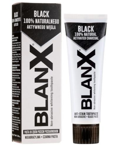 BlanX Black pasta wybielająca do zębów 75 ml