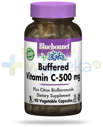 Bluebonnet Nutrition Buforowana witamina C 500 mg z bioflawonoidami cytrusowymi, hesperydy...