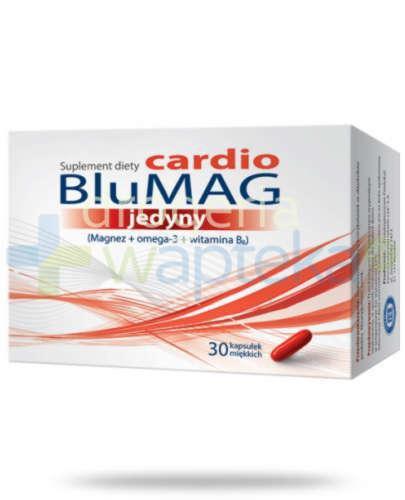 BluMag Cardio jedyny 30 kapsułek