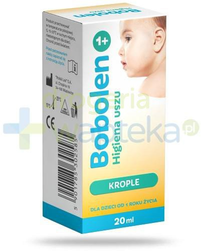 Bobolen higiena uszu krople 20 ml