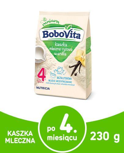 BoboVita Kaszka mleczno-ryżowa o smaku waniliowym 230 g