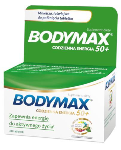Bodymax 50+ codzienna energia 60 tabletek