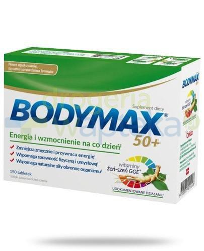 Bodymax 50+ wyciąg z żeń-szenia GGE + witaminy 30 tabletek
