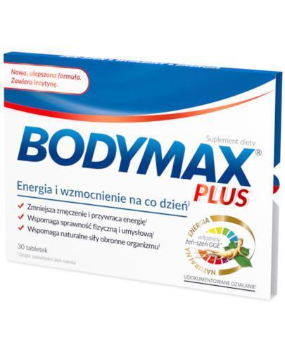 Bodymax Plus z lecytyną 30tabletek