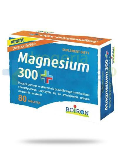 Boiron Magnesium 300+ 80 tabletek  whited-out