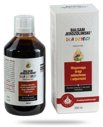 Bonifraters Balsam Jerozolimski dla dzieci 200 ml