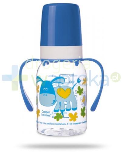 Canpol Babies Butelka niemowlęca + uchwyt 120 ml [11/823]