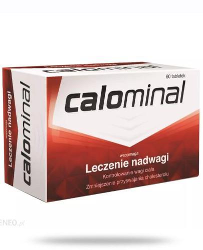 Calominal wspomaga odchudzanie 60 tabletek