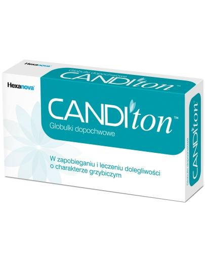 CANDIton globulki dopochwowe 10 sztuk