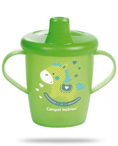 Canpol Babies Anywayup by Haberman kubek niekapek dla dzieci 9m+ 250 ml [31/200_gre]