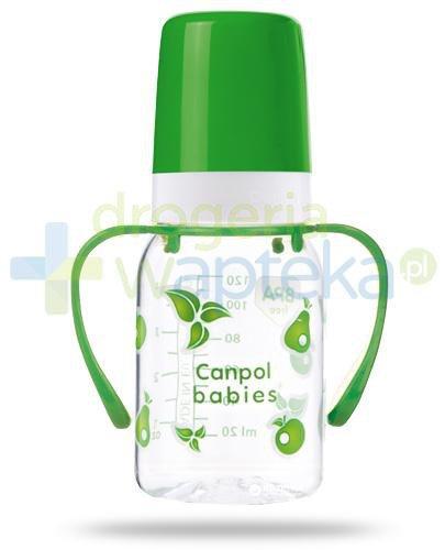 Canpol Babies butelka tritanowa z uchwytami 120 ml [11/821]