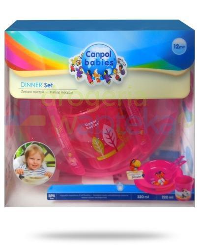 Canpol Babies Dinner Set zestaw naczyń [4/405]