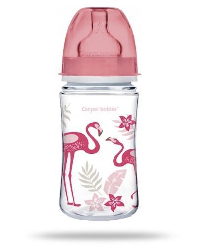 Canpol Babies EasyStart Jungle butelka szerokootworowa antykolkowa 240 ml [35/227_cor]