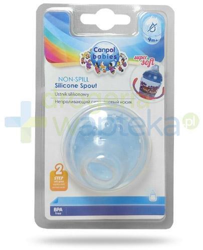 Canpol Babies miękki ustnik silikonowy 9m+ 1 sztuka [65/597]