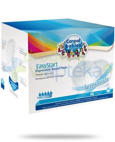 Canpol Babies EasyStart wkładki laktacyjne 48 sztuk [19/600]